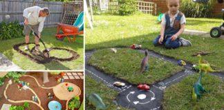 Pretekárska dráha pre deti na záhrade | DIY nápad a návod