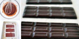 Domáca RAW čokoláda z 3 ingrediencií | Recept