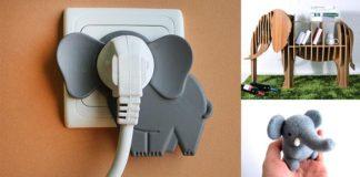 20 vecí, ktoré si zamiluje každý, kto má rád slony | Dizajn