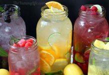 Vody ochutené ovocím a bylinkami | 5 skvelých receptov
