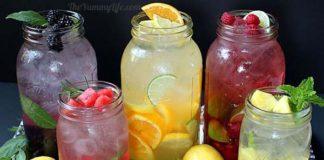 Vody ochutené ovocím a bylinkami   5 skvelých receptov