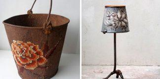 Výšivky na kovových predmetoch | Pozoruhodné cesty nití