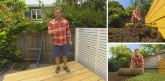 Trávnatá posteľ | Kreatívny nápad a návod na záhradný nábytok