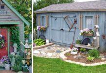 Záhradné kôlne   15+ inšpirácii a nápadov na dizajn záhradných kôlní