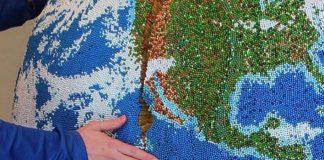 Model Zeme pokrytý tisíckami zápaliek | Andy Yoder