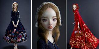 Handmade porcelánové bábiky pre dospelých | Marina Bychkova