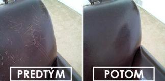 Ako odstrániť škrabance na koženej sedačke | Skvelý nápad