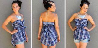 Dámske outfity z pánskej košele | Nápady ako poskladať pánsku košeľu
