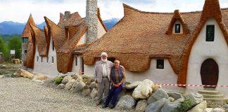 Castelul de lut Valea Zanelor | Eko-friendly zámok z hliny, slamy, kameňov