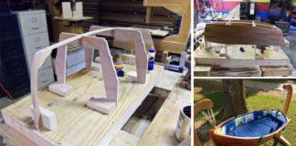 Drevená detská kolíska pre bábätko v tvare lode | To je nápad!