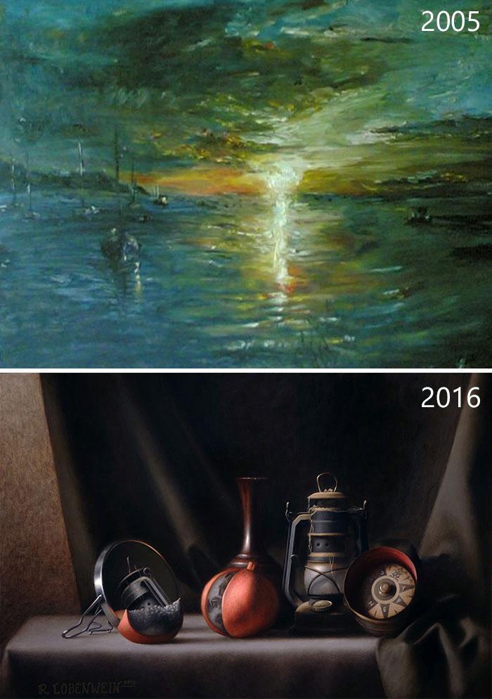 predtym a potom pokrok umelcov 11