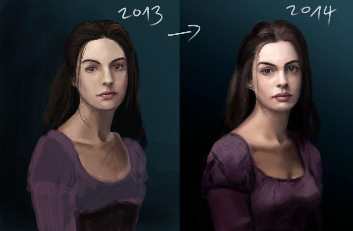 predtym a potom pokrok umelcov 14