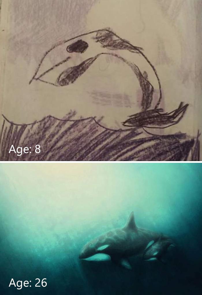 predtym a potom pokrok umelcov 5