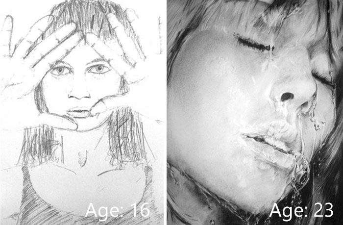 predtym a potom pokrok umelcov 7