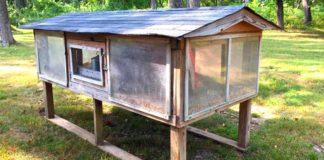 Kurín pre sliepky s výbehom | Inšpiratívny nápad