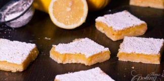 Citrónové rezy | Recept, ktorý si zamilujete!