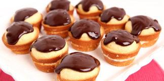 Bostonské krémové cupcakes | Recept, ktorý si zamilujete