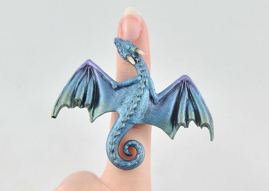 umelkyna vyraba sperky s motivom drakov fantasticky svet oziva (9)