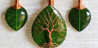 Ekologicky priateľské šperky z častí starých televízorov | Celina Ortiz