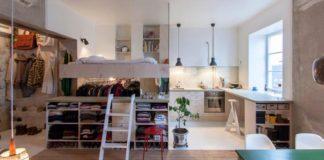 Renovácia bytu 36 m² v netradičný štýl doplnený dizajnovými prvkami