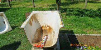 Záhradný krb a pec zo starej vane | DIY návod ako postupovať