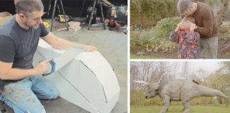 Bunker v podobe dinosaura | Najúžasnejšia detská skrýša