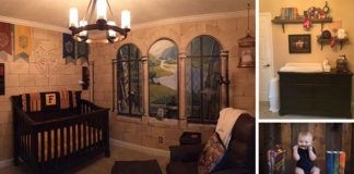 Čarovná detská izba v štýle Harryho Pottera