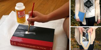 Kabelka zo starej knihy | Originálny nápad na handmade kabelku