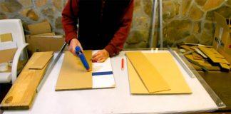 Nábytok vyrobený z kartónu | Nápady a návody na kartónový nábytok