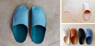 Handmade kožené papuče | Návod ako si ich zhotoviť vlastnými rukami
