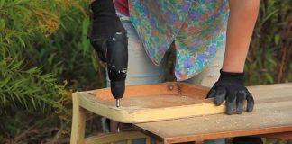 Hojdačka zo starej stoličky | Kreatívny DIY nápad s návodom upcyklácie