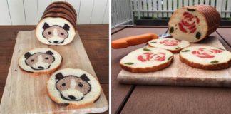 Chleby inšpirované rozprávkami, prírodou a jeho kresbami | Konel Bread