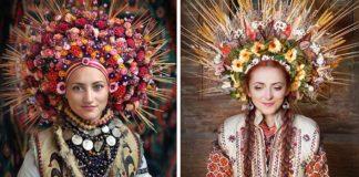 Kvetinové koruny na hlavu inšpirované slovanskou kultúrou | Treti Pivni