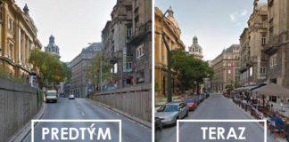 Premeny mestských častí, ktoré dali väčší priestor chodcom!
