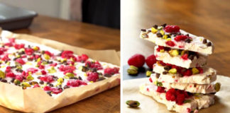 Mrazené jogurtové kúsky Yogurt Bark   V lete osviežia, v zime potešia