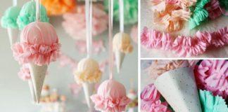 Zmrzlina dekorácia | DIY návod ako si vyrobiť zmrzlinu, ktorá sa neroztopí