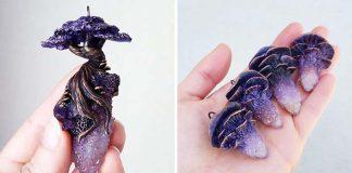 Šperky inšpirované čarovným lesom sopd rúk Cheryl Lee