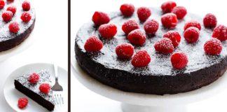 Čokoládová torta bez múky len z troch ingrediencií | Recept