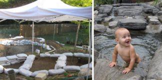 Vodný svet na záhrade | Veľkolepý nápad šikovného muža