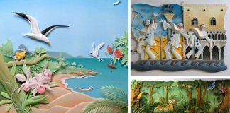 Ilustrácie z papiera, ktoré sú hravé a plné drobných detailov | Carlos Meira