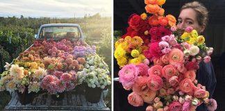 Flóristka Erin Benzakein je dôkazom toho, že práca kvetinára je úžasná!