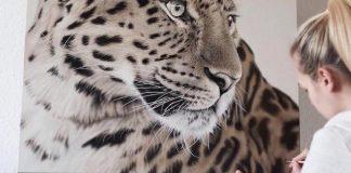 Realistické portréty zvierat | Obrazy spod rúk Franziska Treptow