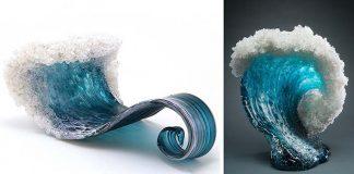 Vlny zo skla v podobe váz a sôch | Marsha Blaker a Paul DeSomma