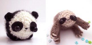 Miniatúrne háčkované zvieratká od Mohustore | Handmade inšpirácia