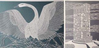 Obrazy vyrezané z papiera | Umenie spod rúk umelkyne Pippa Dyrlaga