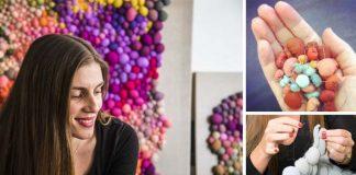 Textilné obrazy spod rúk umelkyne Serena Garcia Dalla Venezia