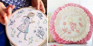 Vyšívaná handmade tvorba Tamar Nahir Yanai vás očarí jednoduchosťou