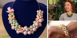 Mohutné elegantné náramky a náhrdelníky z korálok či perál | DIY návody