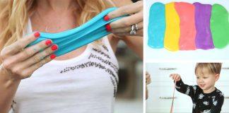Sliz na hranie pre deti | DIY návod ako si ho vyrobiť doma