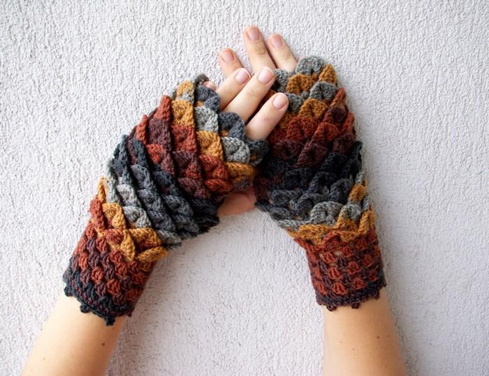 hackovane-a-pletene-dracie-rukavice-zahreju-bezprstove-farebne-4